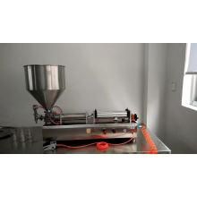 Máquina neumática de llenado de líquidos para agua / perfume / champú / aceite
