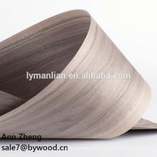 Chapa de madera natural de uso de materia prima y nogal negro