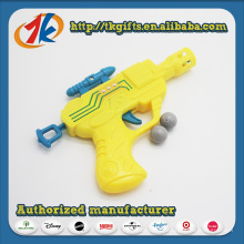 Brinquedos de tiro de tiro de bola plástica de crianças ao ar livre engraçado arma