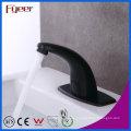 Fyeer New Kalt-und Warmwasser Waschbecken Black Sensor Tap mit Temperatur-Einstellventil