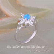 Роскошный Модный Австралийский опал 925 твердые серебряное кольцо для подарка