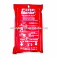 china best fire blanket factory supplier brands/fire resistant blanket/yiwu fire blanket factory