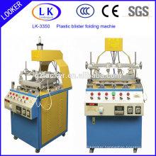 hot selling Plastic Blister Three Edge Folding Machine for blister clamshell