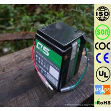 6YT4 (6N4) 6V4AH Alto Desempenho inicial AGM Bateria de motocicleta com ácido de chumbo sem manutenção selada