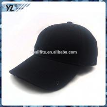 Schwarze leere LED-Baseballmütze mit großem Preis