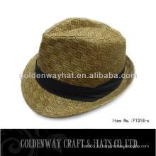 Классическая шляпа мальчика Fedora, изготовленная из бумаги