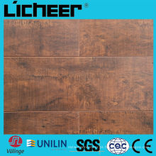 Alemanha técnica HDF madeira laminada Pisos / AC3 laminado chão / seda