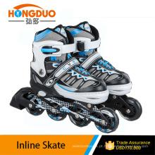 skate ajustável / levou flash kids roller skate shoes