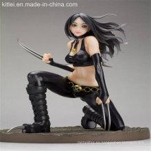 Figura de acción fresca figura de plástico de diseño personalizado