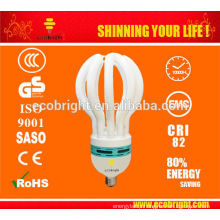 HOT! 4U 17MM 85W E27 LOTUS ENERGY SAVING LAMP 6000H LOW PRICE