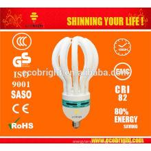QUENTE! 4U LOTUS 17MM 85W E27 SAVER DE ENERGIA LUZ 6000H PREÇO BAIXO