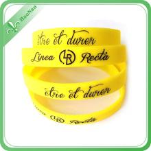 Bracelet / bracelet promotionnels de silicone de vente d'OEM de vente chaude