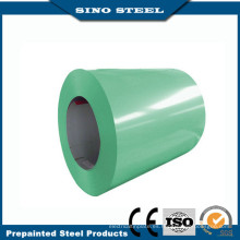 Bobina de acero prepintado del Gl con la hoja de acero galvanizada revestida del color