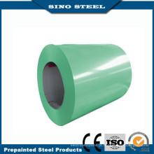 Bobina de aço Prepainted Gl com chapa de aço galvanizada revestida de cor