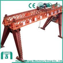 80t Lattice Gantry Crane with Light Dead Weight, Small Windwall Side