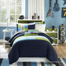 Mi Zone Pipeline Mini Comforter Duvet Cover Bedding Navy Blue Comforter Set