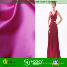 Helles glattes weiches Satin Stoff langes Kleid Stoff