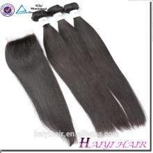 Cabelo malaio virgem da fábrica de Qingdao do cabelo Fabricante barato cabelo por atacado
