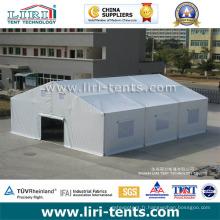 Structure d'aluminium Disater Relief Tent / Refugee Tent / Emergency Tent