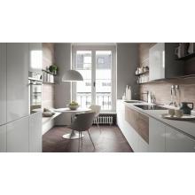 Conjunto completo Alfombra de MDF a medida de alto brillo lacado gabinete de cocina