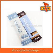 Kunststoff laminierte kundenspezifische gedruckte rechteckige Schokoriegel Verpackung