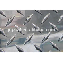 Checkered aluminum sheet 6061 6062 aluminum plate used in Aircraft