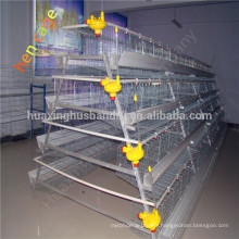 Design galvanized battery layer chicken cages with drinking system
