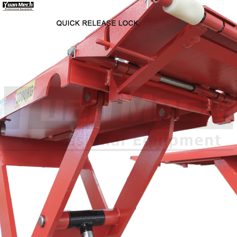 mid rise lift quick release lock