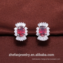 Jewelry set wedding plating AAA cubic zirconia wholesale online