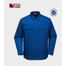 a roupa para homens veste o uniforme industrial das camisas uniformes do trabalho do desgaste