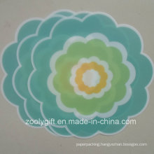 Die-Cut Flower Shaped PP Table Mat PP Coaster