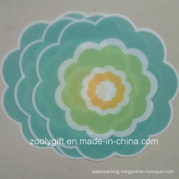 Die-Cut Flower Shaped PP Table Mat PP Coaster
