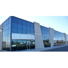 Montreal Thermal Break Aluminium Exposed Frame Curtain Wall Systems