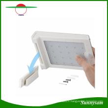 Lumière solaire de mur de capteur de mouvement de 6V 25 LED PIR