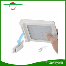6V 25 LED PIR Motion Sensor Solar Wall Light