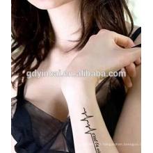 Nouvelle mode, Adorning non toxique orienté, Yincai autocollants temporaires de tatouages
