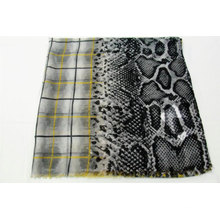 wholesale several pattern combinations women summer fashion scarf plaid leopard and snakeskin print hijab