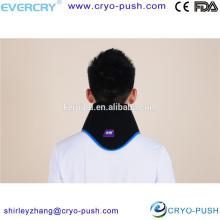 paquete de hielo en el cuello