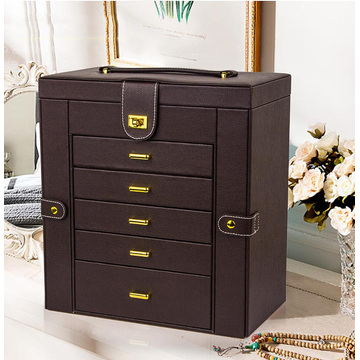 Luxury Multifunctional Large Storage Jewelry Box for women