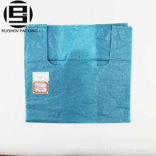 Recyclez le fournisseur de porcelaine de sac en plastique bon marché de t-shirt