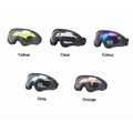 Colorful Motorcycle Goggles Masque Motocross Goggles Helmet Glasses Windproof Off Road Helmets Goggles