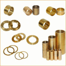 oil sintered copper bearing/split flange oilless wrapped brass bush/cast bronze sleeve, slide bimetal bronze steel bushing
