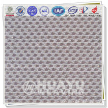 refreshing 100% polyester mesh fabric for sport shoes