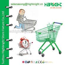 Тележка для покупок 60L для супермаркета