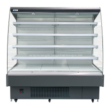 Curved fresh fruits and vegetable display chiller
