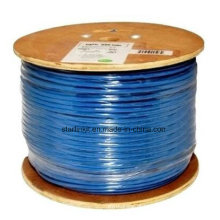 Cabo CAT6 STP LAN de Alta Velocidade para Rede Gigabit Azul