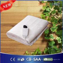 Couverture de chauffage certifiée 220 ~ 240V Polyester Couverture électrique