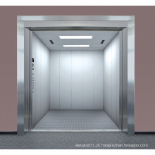 Os bens do elevador de frete levantam o elevador da carga com grande espaço
