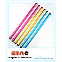 Bande magnétique forte en aluminium de message de Muiticolor pour l'enseignement et le bureau