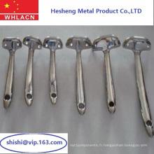 Pièce de rechange faite sur commande de machine en métal de haute précision (partie de machines)
